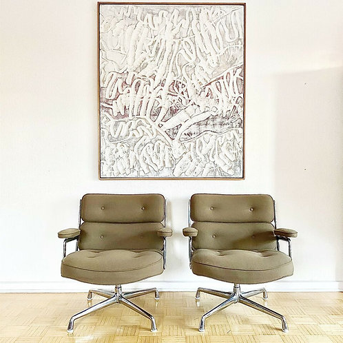 2 Herman Miller ( Vitra ) Time Life Lobby Chairs - Sessel
