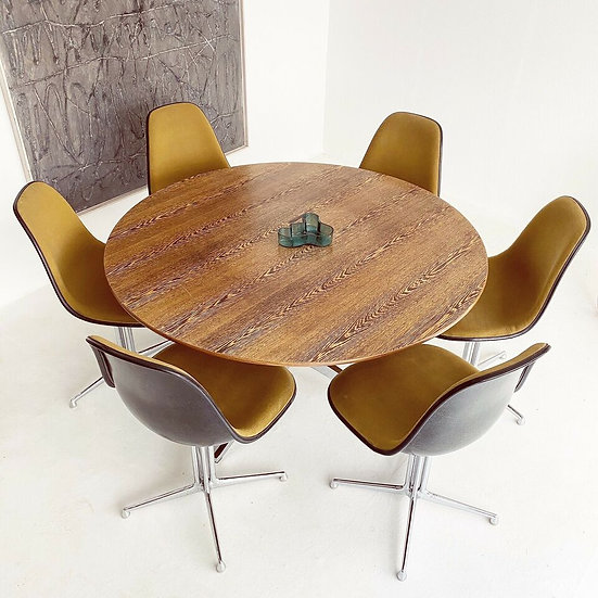 6x Herman Miller | Vitra | Eames - Fiberglas Side Chairs - Stühle