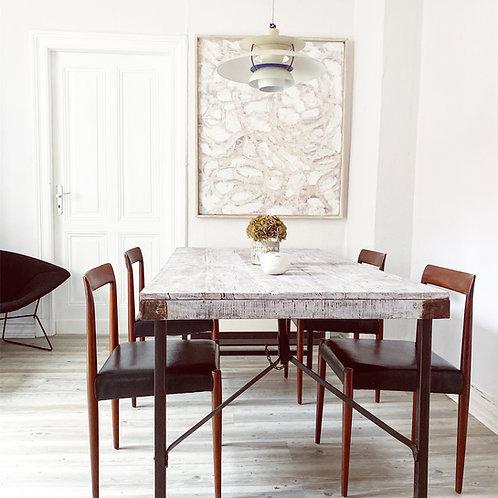 4 schöne - Mid-Century Lübke Stühle