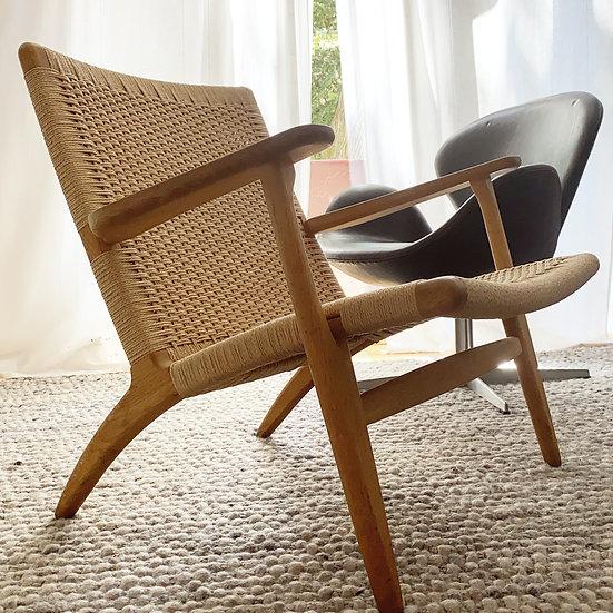 Hans J. Wegner - Carl Hansen - CH25 - Lounge Chair | Sessel