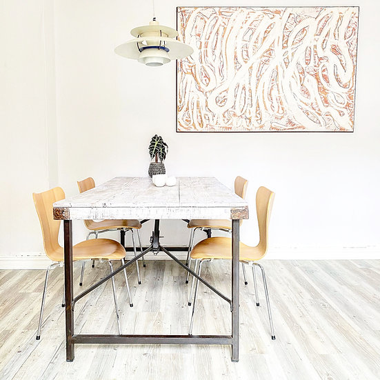 Fritz Hansen Serie 7 (3107) Stühle buche - Arne Jacobsen Design
