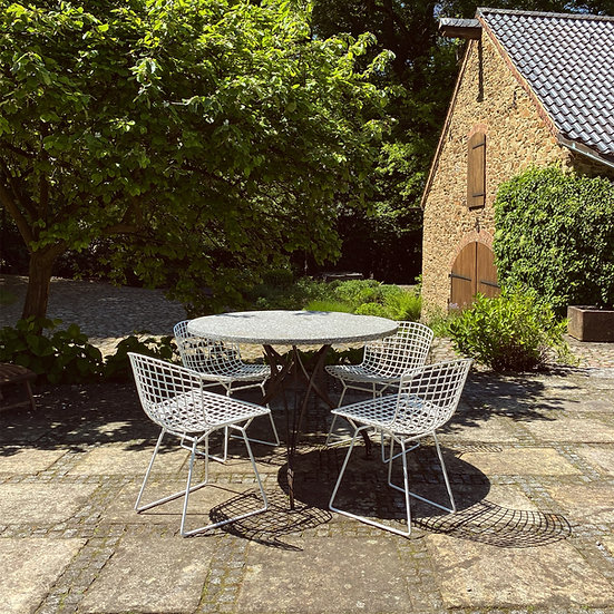Knoll International - Harry Bertoia - 4 Wire Chairs