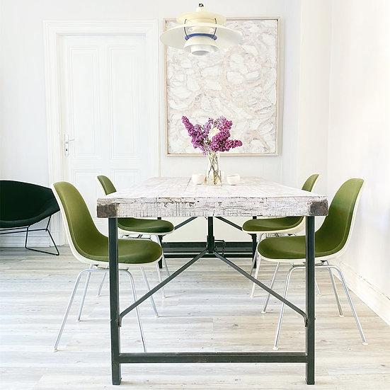 4 Vitra / Herman Miller Fiberglas Sidechair - Eames Stühle