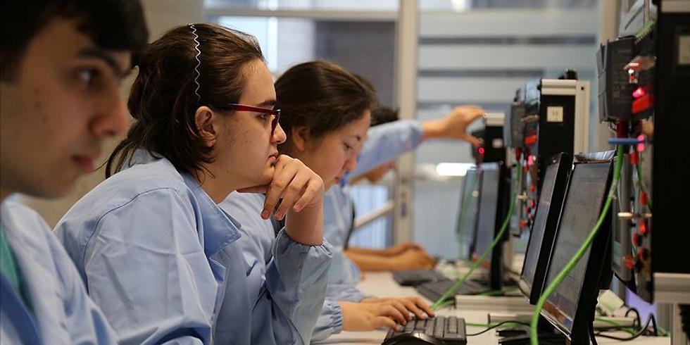 Meslek Lisesi öğrencileri ile  Teknoloji konusunda söyleşi