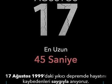 17 Ağustos 1999 Gölcük Depremi!