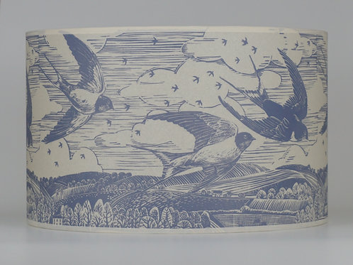 swallow lampshade, grey. From £50