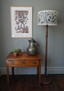 Sparrow lampshade and 'Jay' limited edit