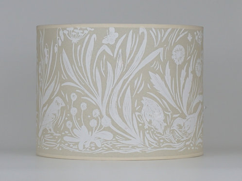 Sparrows lampshade, white