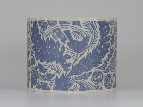William's Garden lampshade, grey. From £35