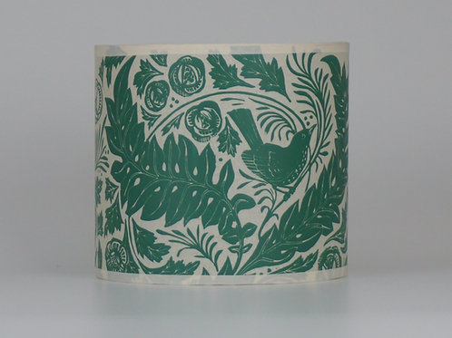 William's Garden lampshade, green. From £35