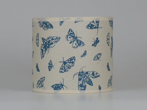 Moth lampshade, blue.From £35