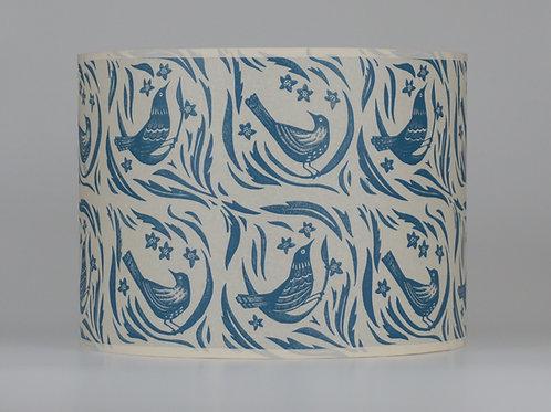 bird garden lampshade, blue. from £45