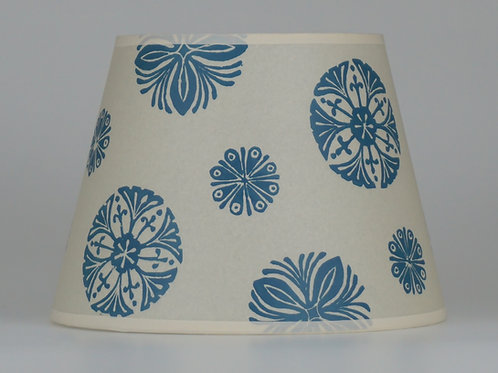 Bloom lampshade, blue. From £50