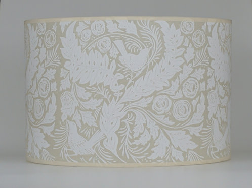 William's Garden lampshade, white. From £35