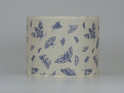 Moth lampshade, grey. From £35