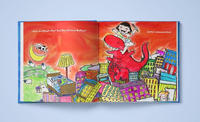 Pepper Zhang artist extraordinaire spread 2