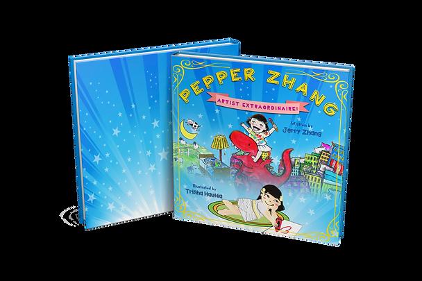 Pepper Zhang artist extraordinaire book