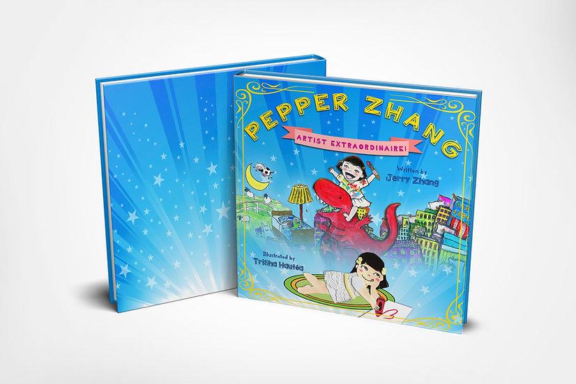 SIGNED Pepper Zhang: Artist Extraordinaire!