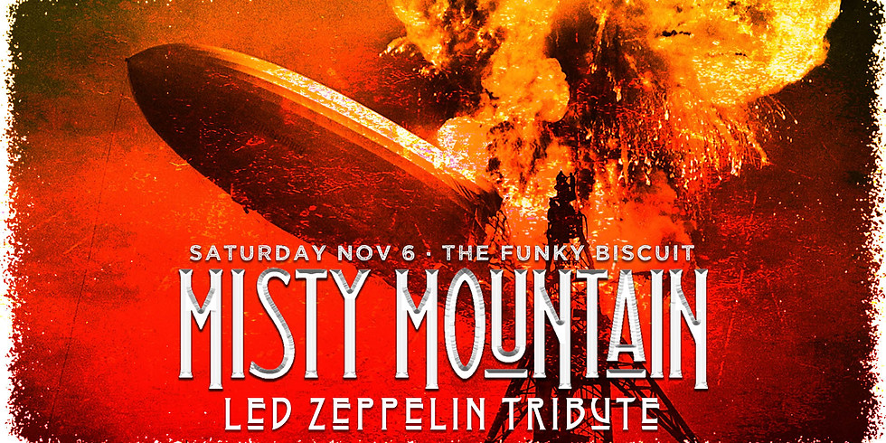 Misty Mountain Debuts at The Funky Biscuit 11/06/21!
