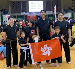 Hong Kong Team in World Tournament