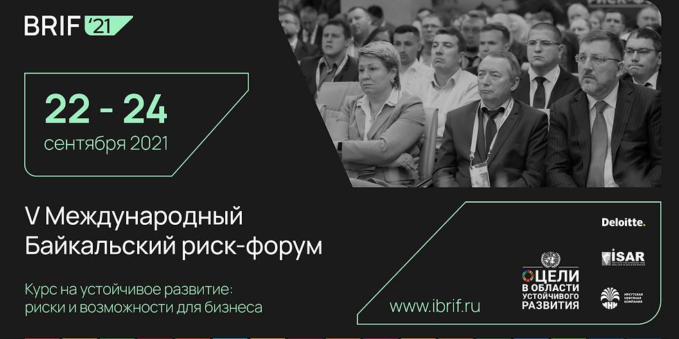 V International Baikal Risk Forum
