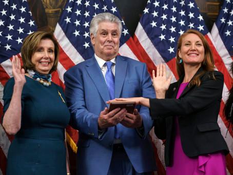 Democrat Melanie Stansbury sworn in to Congress