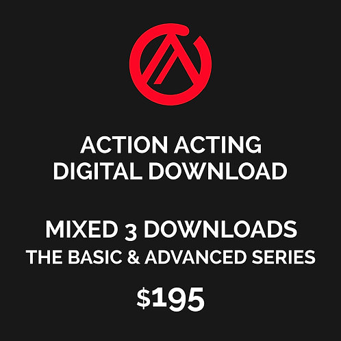 DIGITAL DOWNLOAD - MIXED 3 DOWNLOADS BASIC & ADVANCED SERIES - LEVEL ALL
