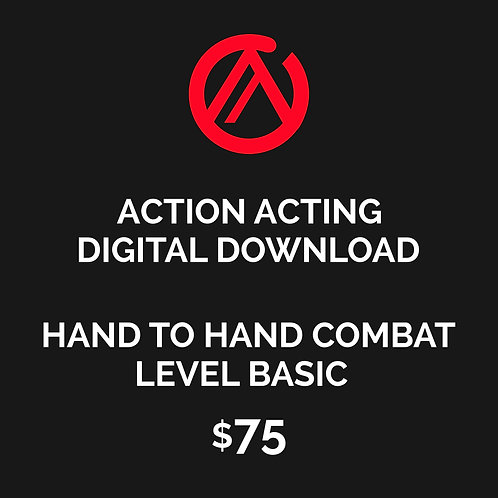 DIGITAL DOWNLOAD - HAND TO HAND COMBAT FOR FILM & TV - LEVEL BASIC