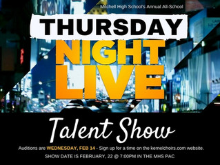TALENT SHOW AUDITIONS - SIGN UP