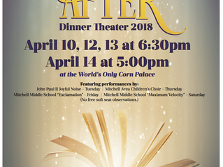 Dinner Theater Tickets on Sale NOW