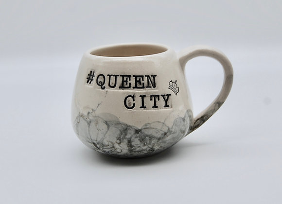 #QueenCity Belly Bottom Mug