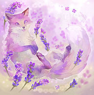 Lavender Fox