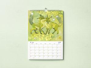 妖狐×花 カレンダー