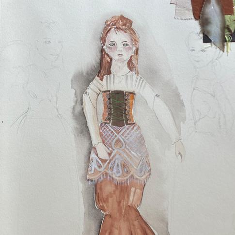 Rendering of Laefan Puppet. Designed by Sarah Gahagan.