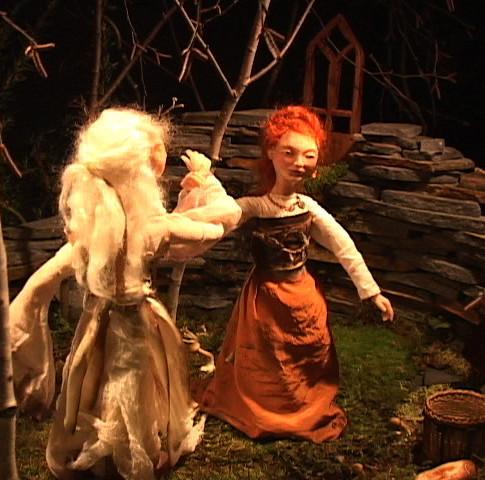 Laefan still. Puppet designed and built by Sarah Gahagan