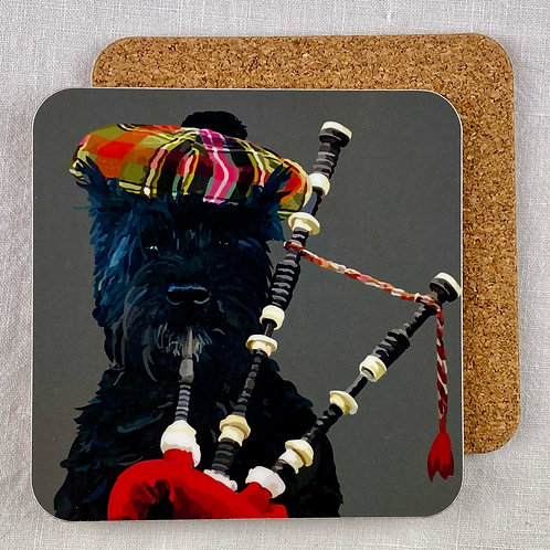 Scottie Coaster Set