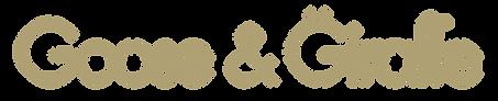 Goose & Giraffe logo (transparent longer