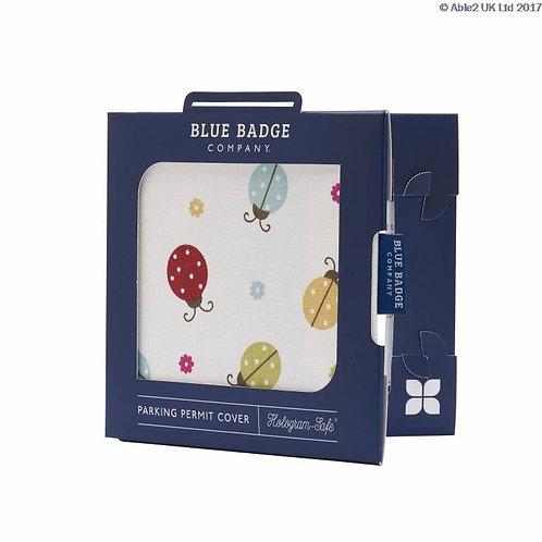Blue Badge Permit Cover - Ladybird  VAT EXEMPT