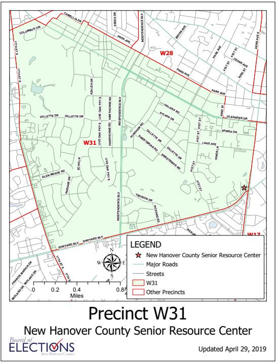 W31 Precinct Map