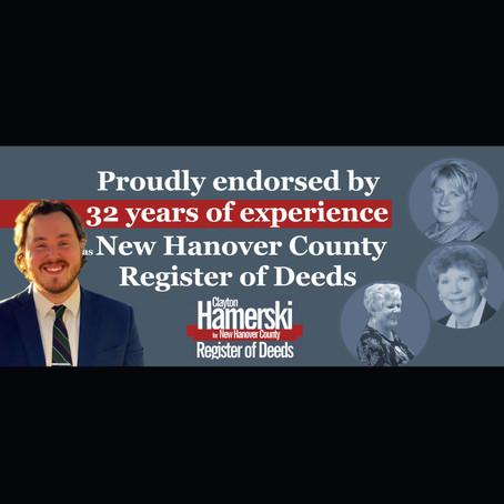 Hamerski Endorsed by All Former Registrars
