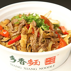 C3. Black Pepper Beef Fried Noodle 黑椒牛柳炒面