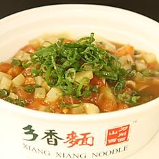 B4. Seasoned Vegetables Sauced Noodle 素三鲜打卤面