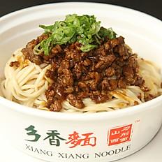 B2. Spicy Pork Sauced Noodle 肉酱小面