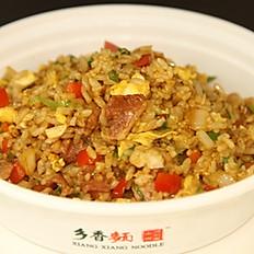 D2. Bacon & Ham Soy Sauce Egg Fried Rice 培根火腿酱油蛋炒饭