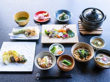 松永六感 藤屋 春の精進料理