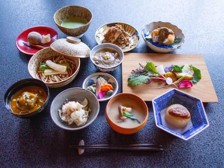 松永六感 藤屋 晩秋の精進料理