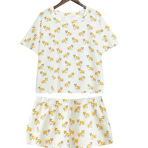 Пижама женская с вельш корги