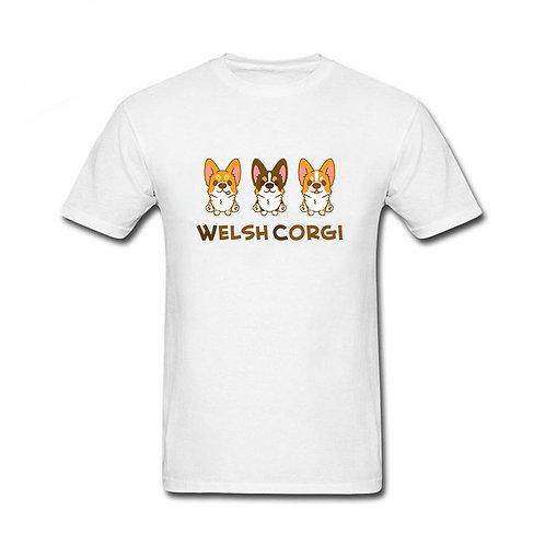 """футболка """"три корги"""""""