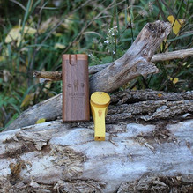 Walnut Dugout and Yellow Heart pipe just