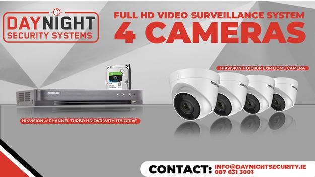 4 HD Cam Package